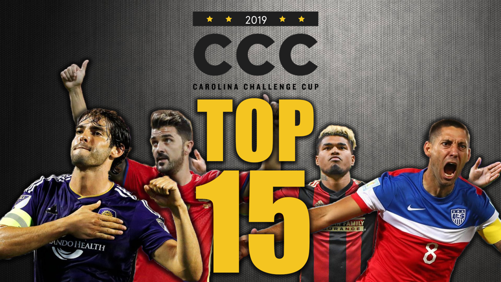 Carolina Challenge Cup Top 15 Players - Title Graphic