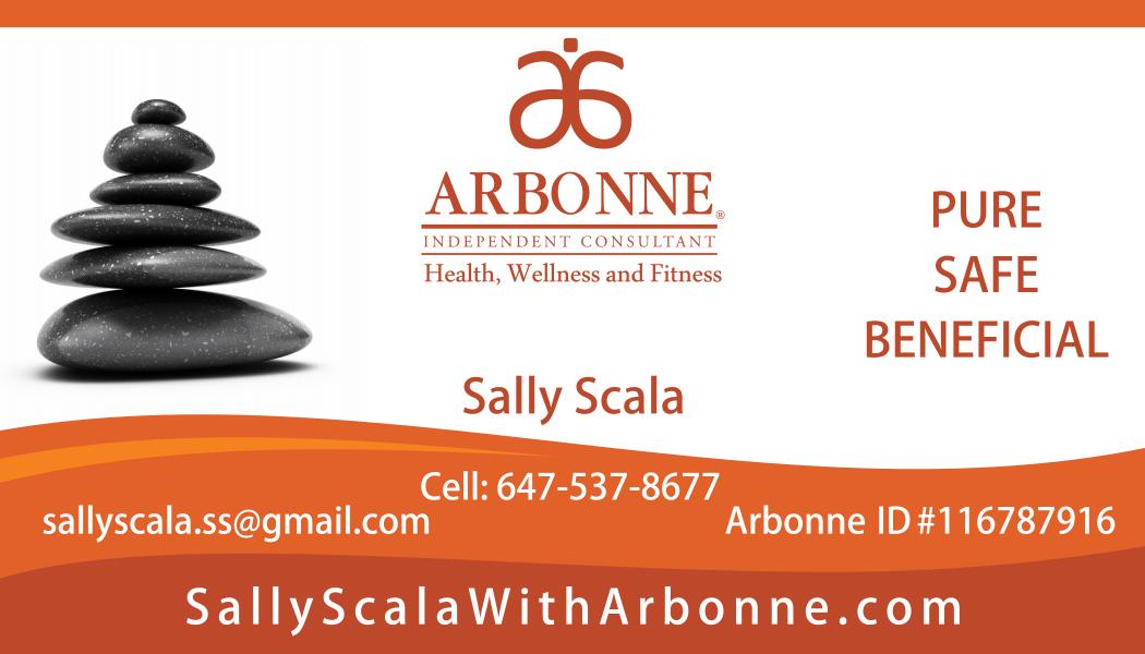 Sally Scala Arbonne Distributor