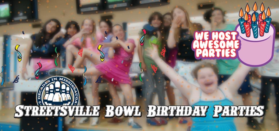 Birthday Parties at Streetsville Bowl - Bowling In Streetsville with Streetsville Bowl - Kevin Jackal Johnston