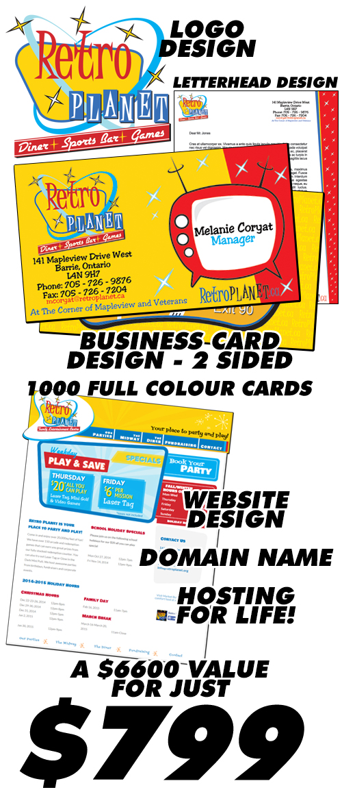 Small Business Graphic Design Package