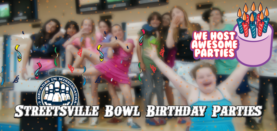 Kids Birthday Parties At Streetsville Bowl - Bowling In Streetsville with Streetsville Bowl - Kevin Jackal Johnston
