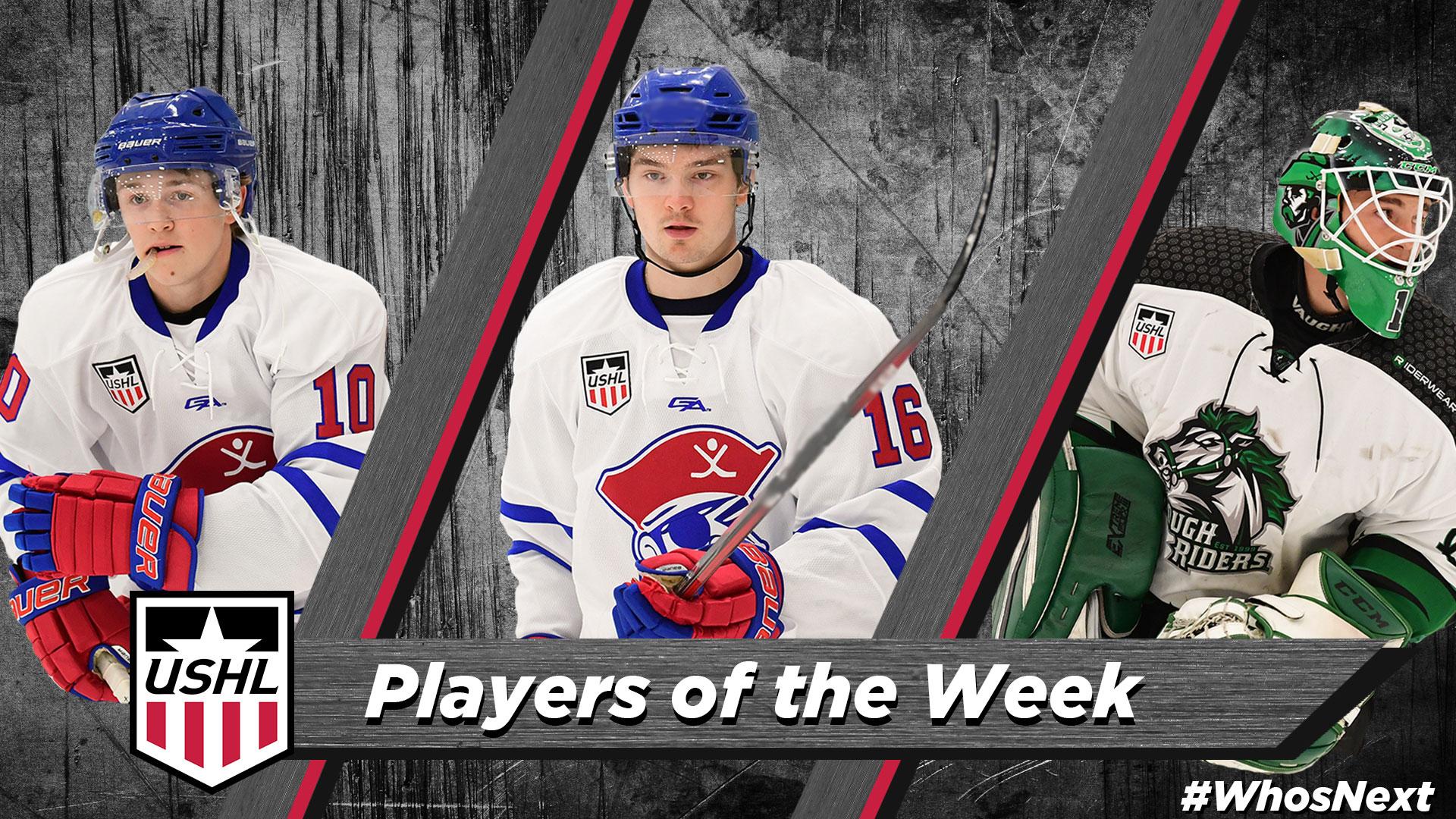USHL: Players Of The Week - Week 1, 2018-19