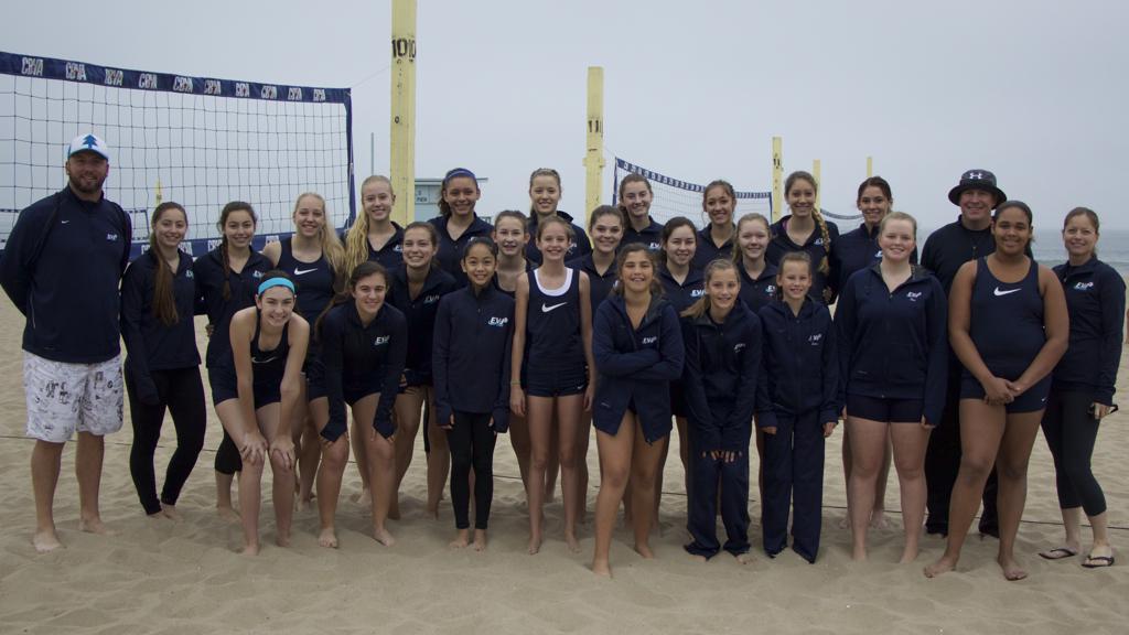 2015 EVJ Beach - CBVA, Manhattan Beach Pier Youth Tournament