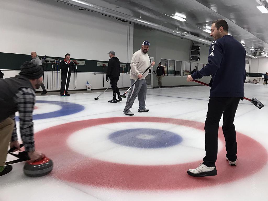 Tyler George sweeps at ECC