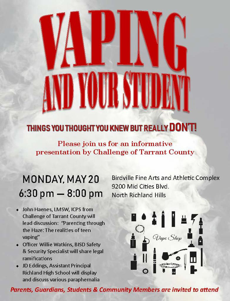 Vaping Flyer
