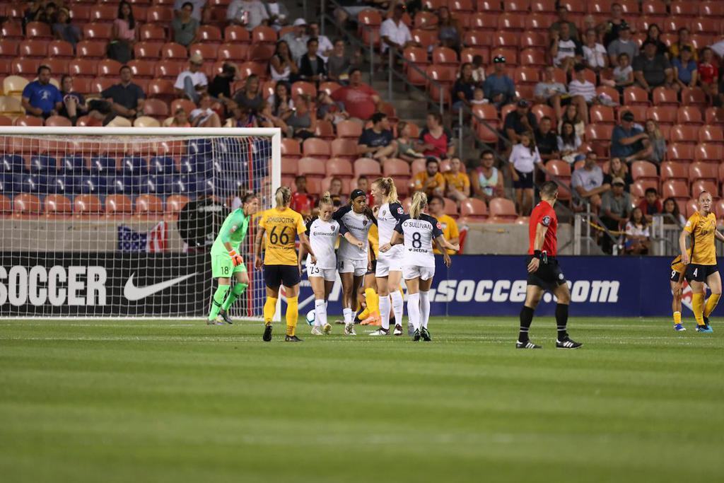 NC Courage Defeat Utah Royals FC Behind Goals from Hamilton