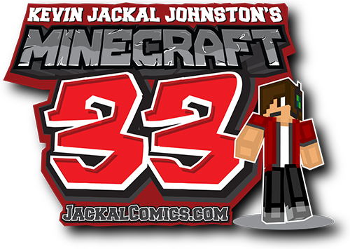 Minecraft 33 The Free MINECRAFT Comic book by Kevin Jackal Johnston