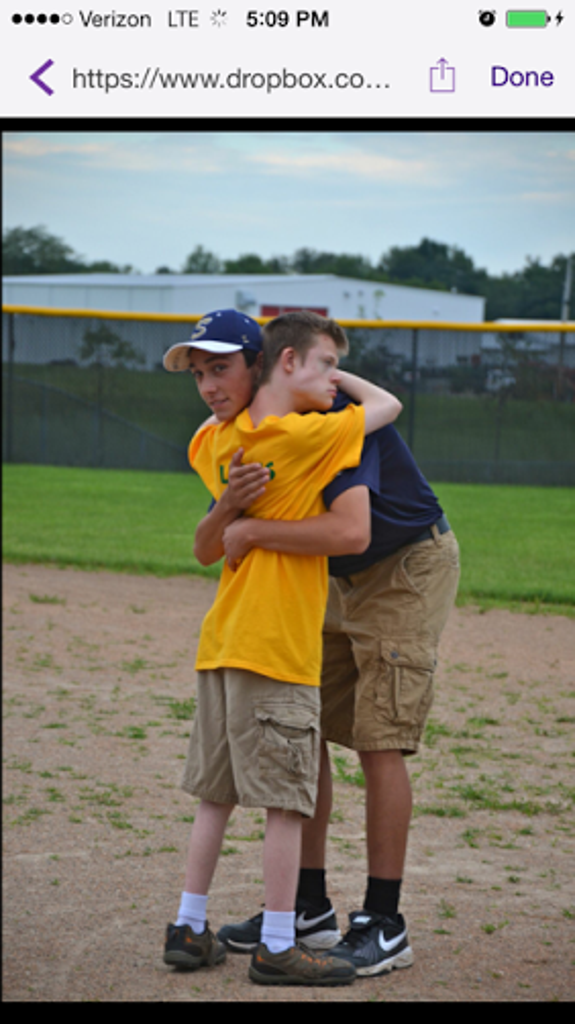 Trevor Wilson making friends and touching hearts at the Agape League