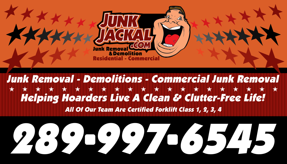 JunkJackal.com 9-6975 Meadowvale Town Centre Circle, Suite 404 Mississauga, Ontario L5N-2V7  www.JunkJackal.com - Junk Removal in Mississauga - Salvage and Clean Up - Bin Rental