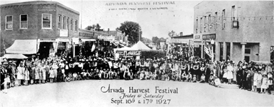 1927 was the 3rd year of Harvest Festival