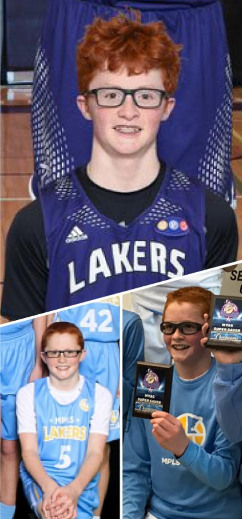 Aidan McMahon Southwest Lakers Class of 2024  Mpls Lakers 2015-2019