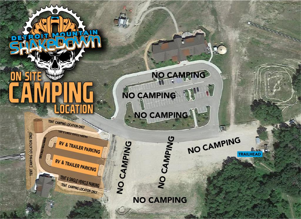ONSITE CAMPING AVAILABLE (Reservations Required)