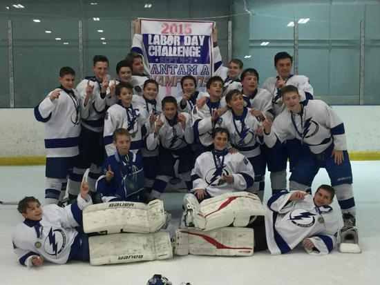 Bantam A Labor Day Tournament Champions!