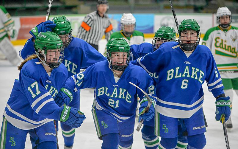 Blake has been one of the state's most successful programs in recent history, with Edina serving as a consistent state tournament roadblock. The two teams renew their rivalry on Saturday. Photo by Earl J. Ebensteiner, SportsEngine