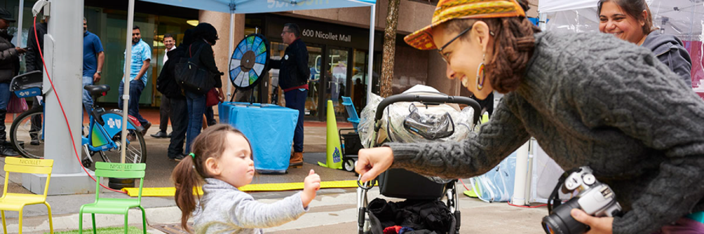 Mpls Downtown Improvement District Nicollet Springtacular event