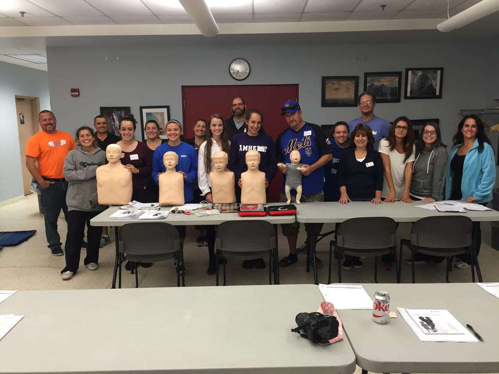 FSC sponcered CPR Safty class for Coaches