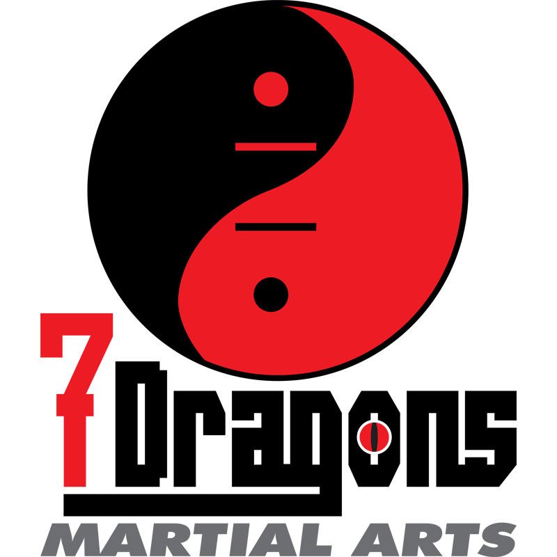 Mississauga Logo Design by Kevin J. Johnston - 7 Dragons Martial Arts