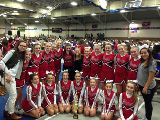 Bemus point midget cheerleader squad photos