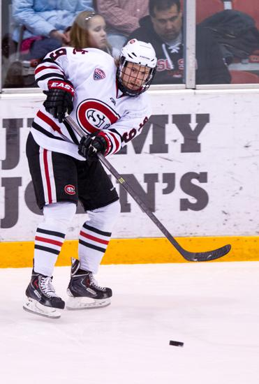 The St. Cloud State men's squad has been stingy early on, allowing just 12 goals in eight games. Photo credit: SCSU Athletic Media Relations.