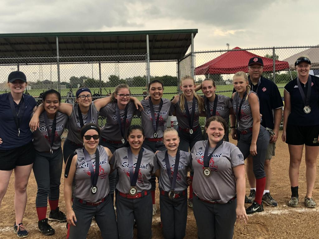 2018-06-17 SPNAR 14 Gray - Chisago Tourney - 2nd place Bronze