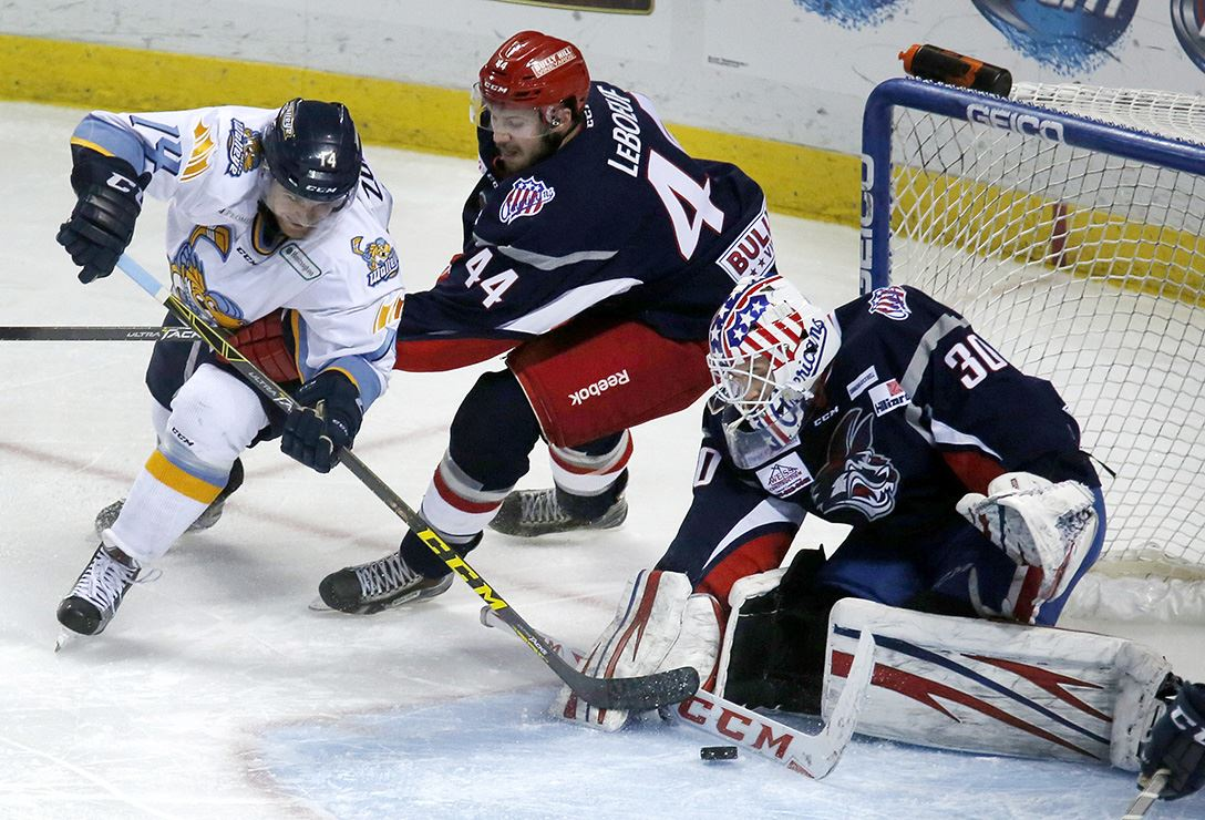 ECHL: Elmira Snaps Walleye Win Streak At 5 Games