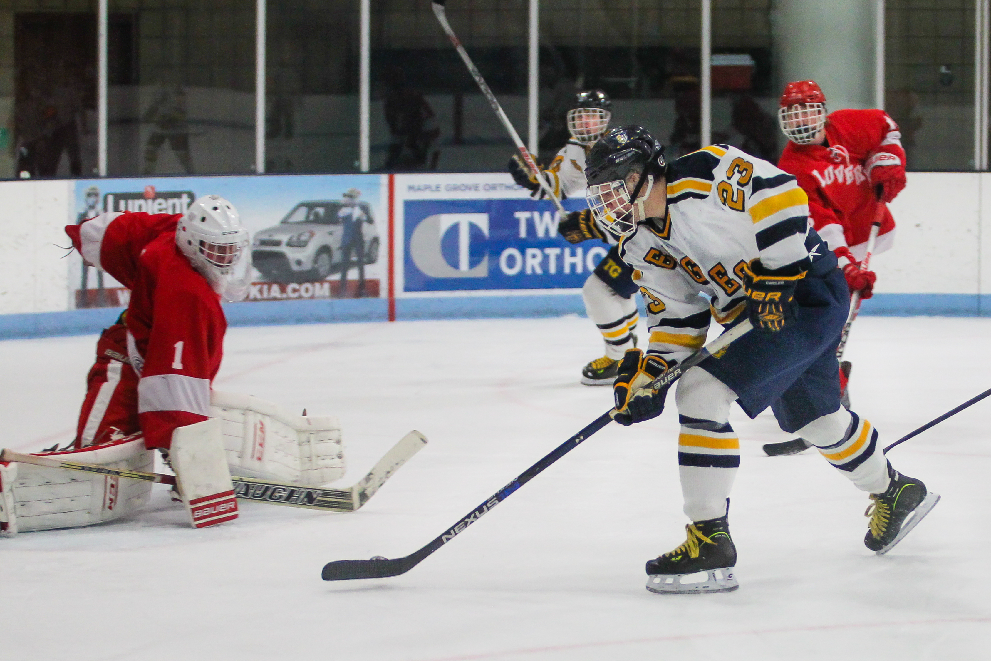 MI H.S.: Totino-Grace Hangs On For Upset Of Luverne