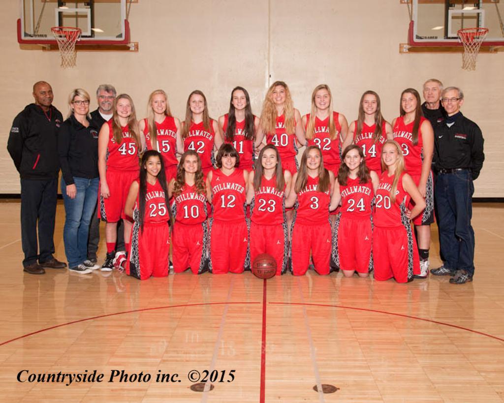 Stillwater Varsity Basketball Team 2015-16