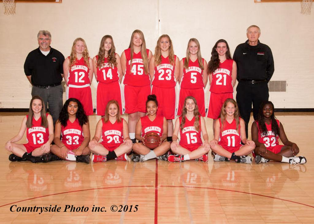 Stillwater 9th Grade Basketball Team 2015-16