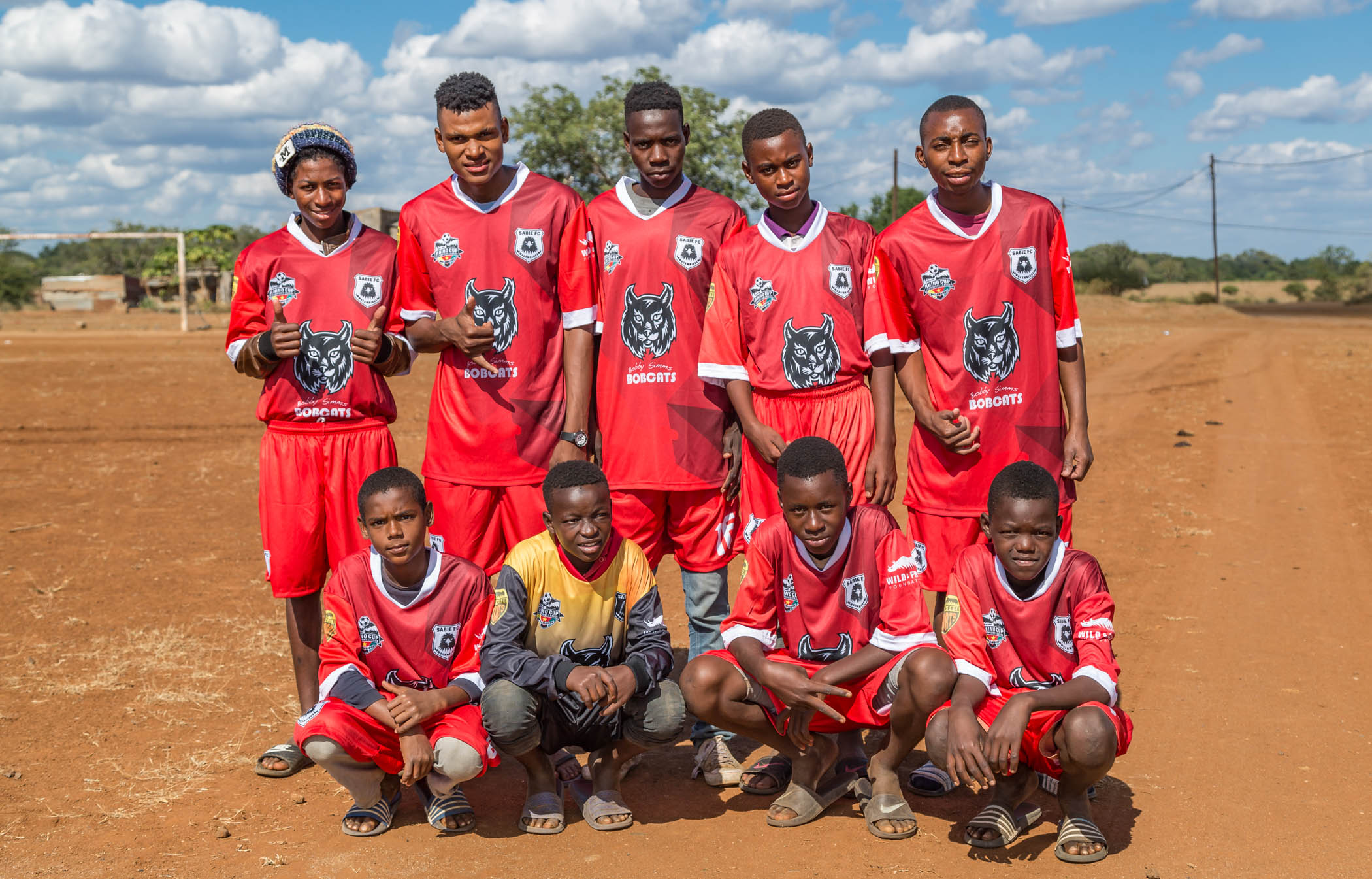 Sabie FC Eagles Team Photo, Rhino Cup Champions League, May 2019