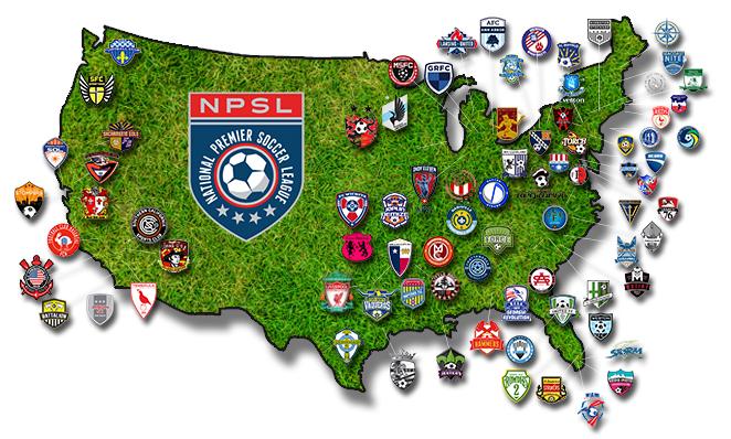 NPSL map