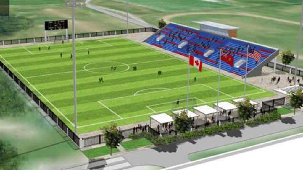 Image result for ontario soccer centre