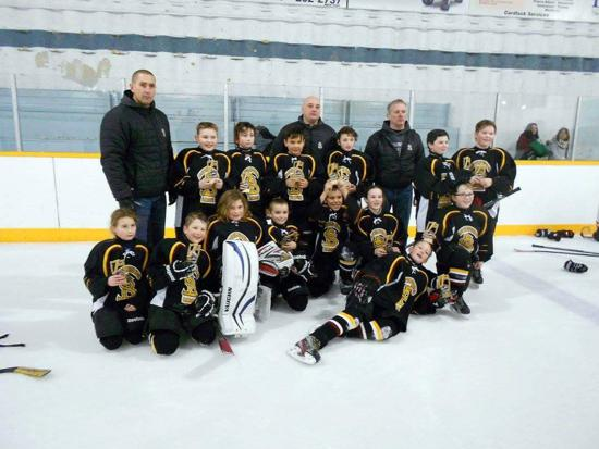 Atom A Dev Team 1st place  in Kenaston Tournament
