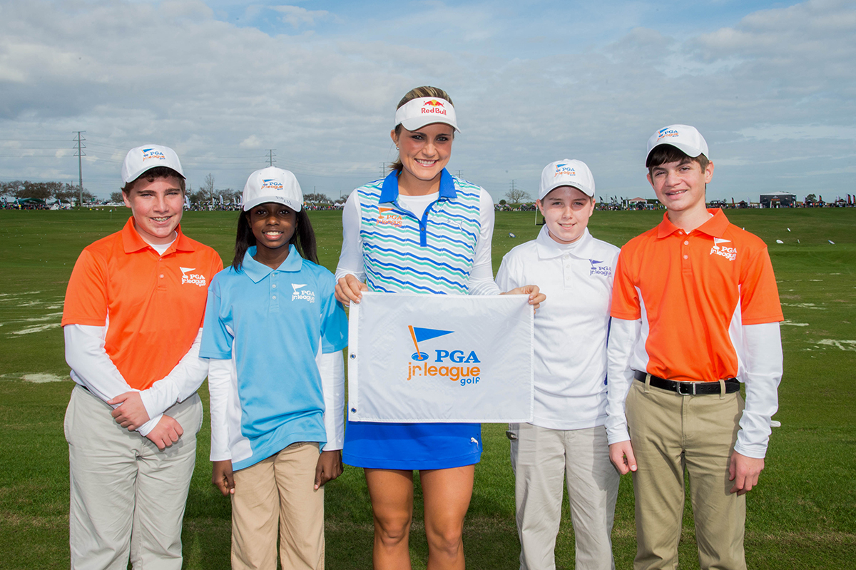 PGA Jr. League Golf Ambassador, Lexi Thompson