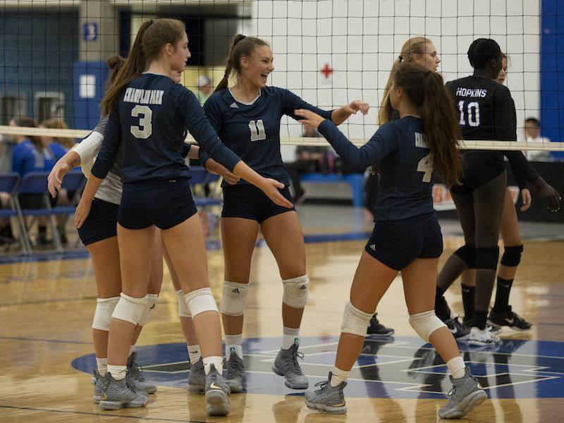A second regular-season win against revenge-seeking Lakeville North could secure Champlin Park's spot atop the rankings. Photo by Jeff Lawler, SportsEngine