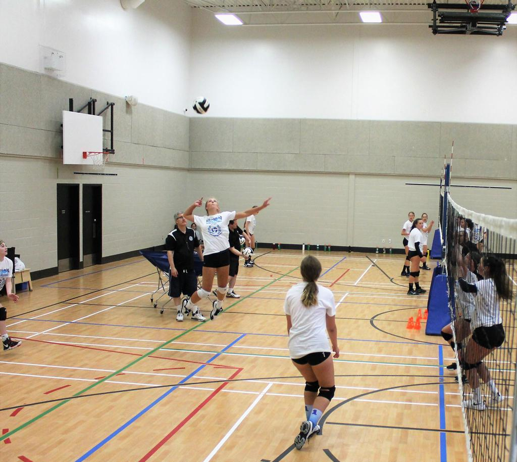 Volleyball Hit