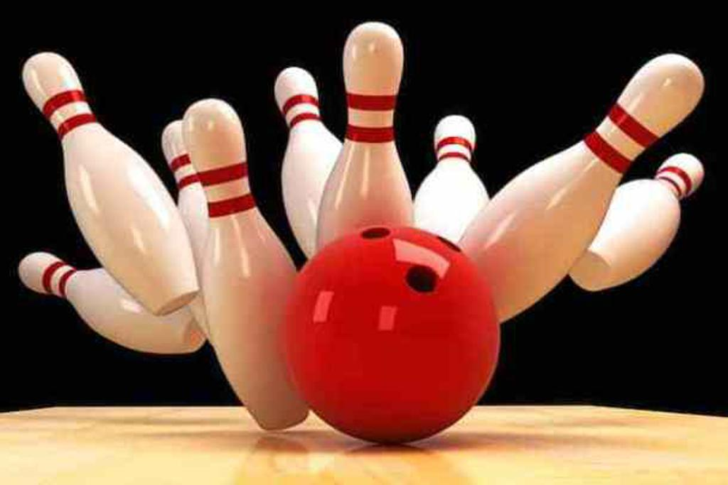 image of bowling pins