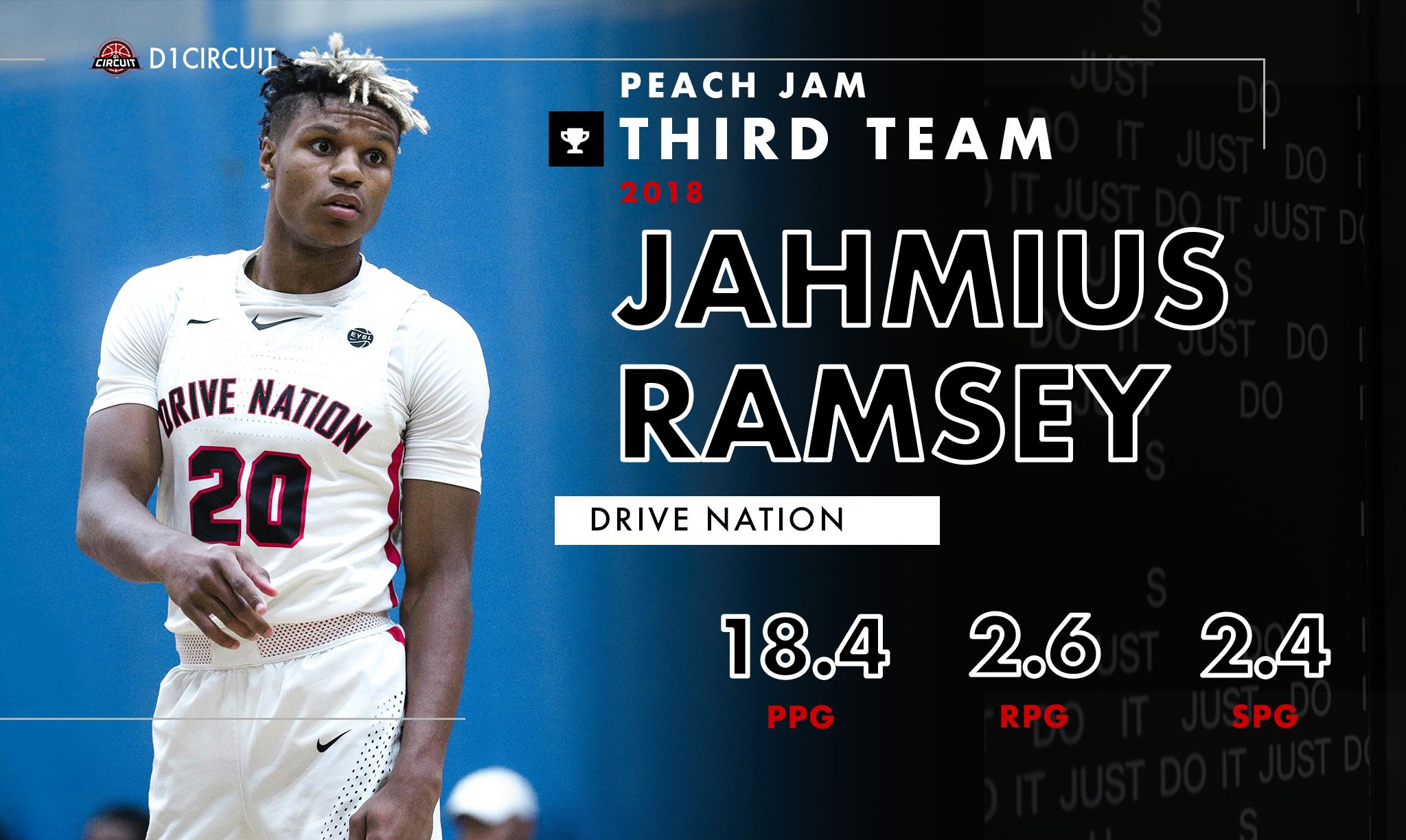 All-Peach Jam: Third Team