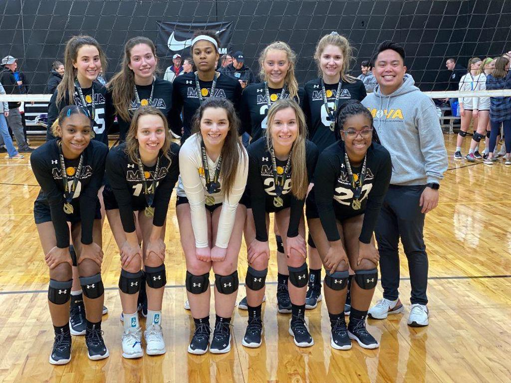 MOVA 18 Gold takes 1st place in Gold Bracket at January Jam