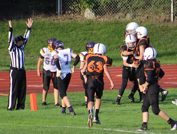 NRMS Football Team Downs the Yellow Jackets