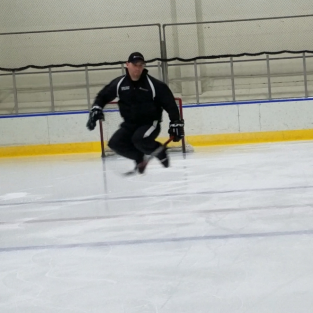 Ice hockey skating instruction that will push you to your limits.