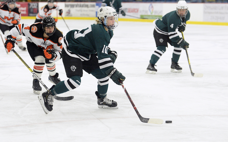 Roseau is headed to Warroad Tuesday with an opportunity to hand its Greater Minnesota Conference rival its first loss of the season. Photo by Tim Kolehmainen, SportsEngine