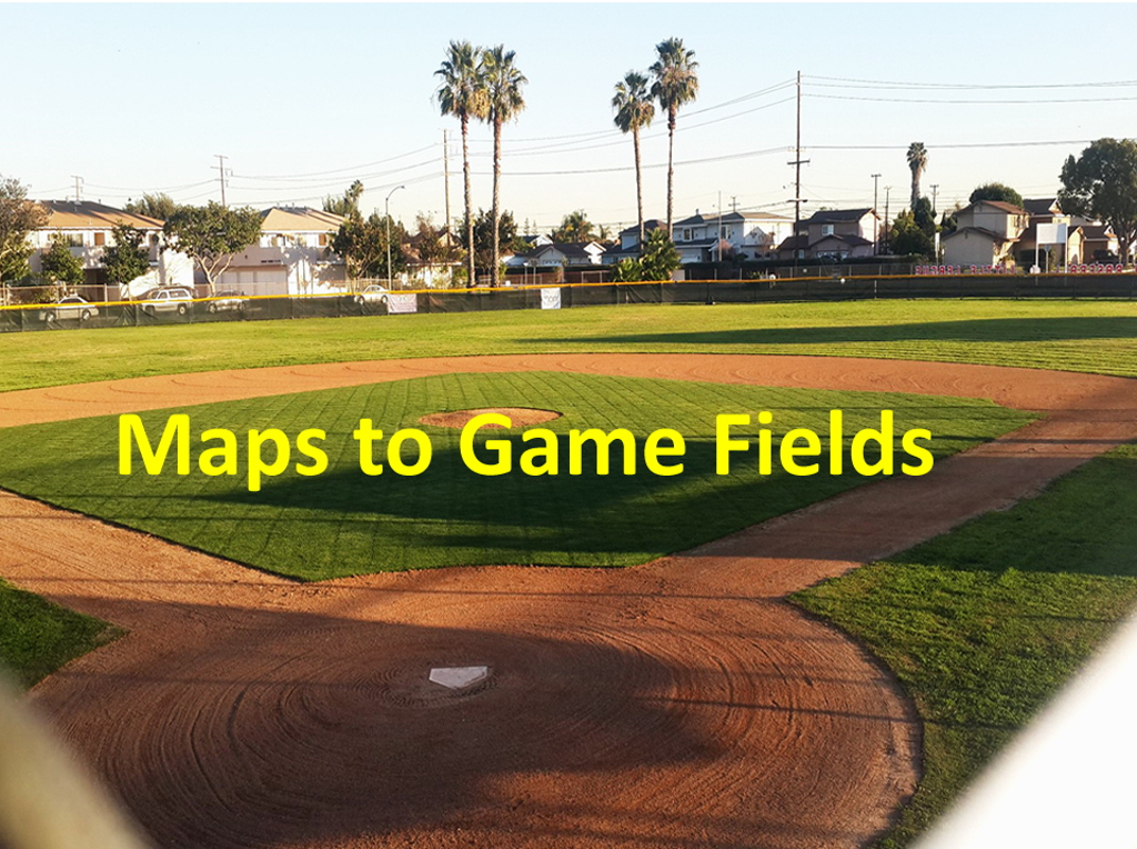 Maps to Game Fields