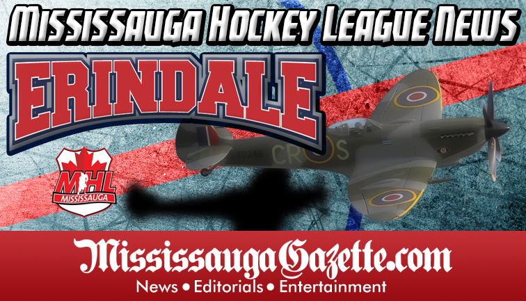 Erindale Hockey Association Logo - Erindale Spitfires Logo and Erindale Hockey Association News. Mississauga Hockey League News