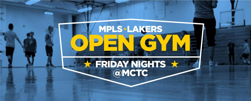 Minneapolis Lakers Youth Basketball Program, LLC hosts open gym times at Minneapolis College (MCTC) in downtown Minneapolis. Boys and girls Mpls Lakers players are encouraged use this time to work on their shooting and ball handling especially if they hav