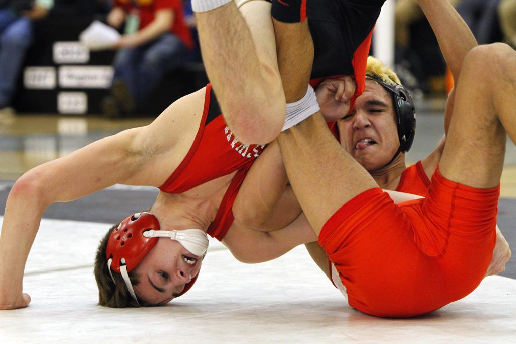 Wrestling: Region 8 ends in blood, sweat and tears