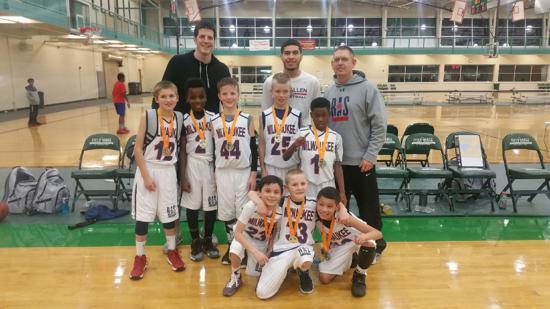 Congrats to the U9 for winning Waukegan Tournament 2/28/16