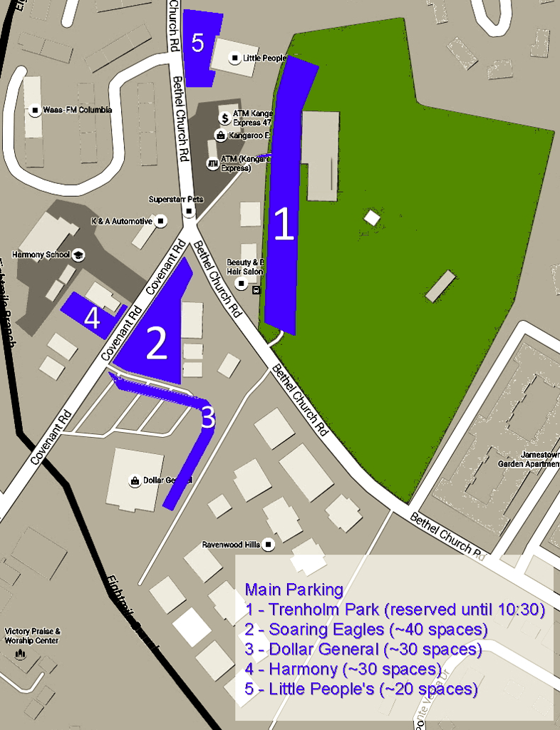 Opening Day Parking