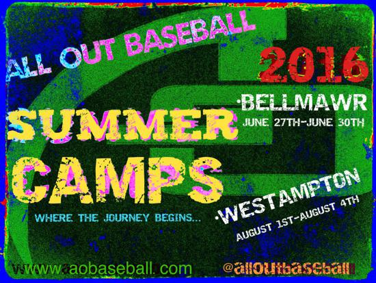 All Out Baseball Summer Camps