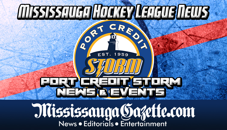 Port Credit Hockey Association Logo - Port Credit Storm Logo in the Mississauga Hockey League News and the Mississauga News
