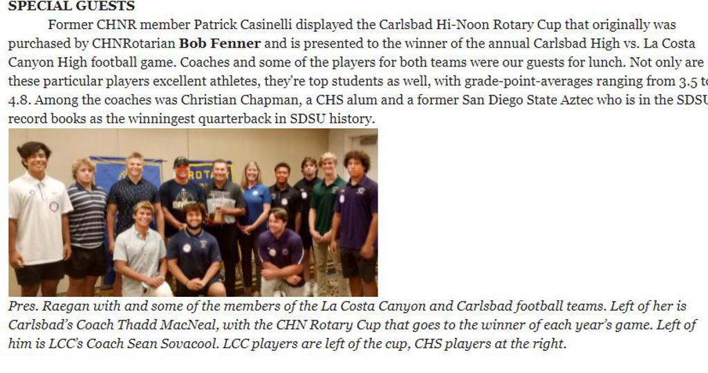 lcc team captains